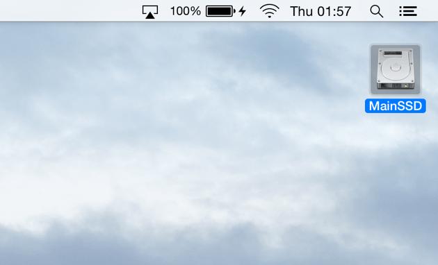 Startup Disk Full | Displaying your hard disks