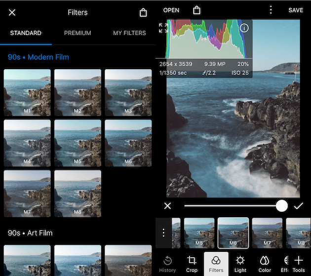 best photo filter apps