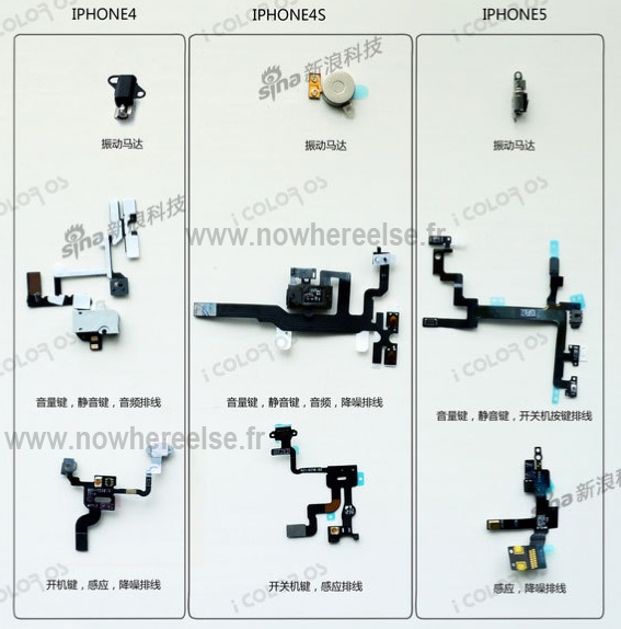 iphone 4s parts diagram 99 acura integra alarm wiring next-generation components compared to previous models - mac rumors