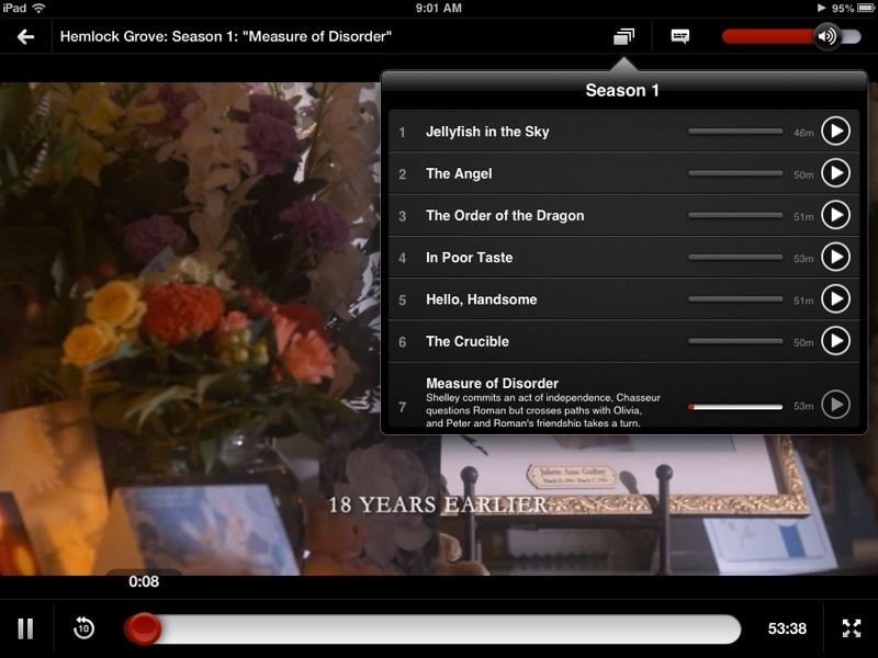 Netflix Updated With Minor Redesign Episode Selector
