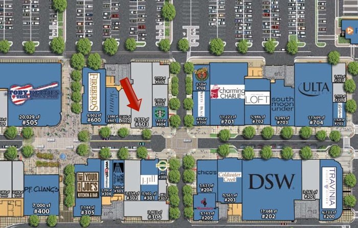 Washington Square Mall Stores Map