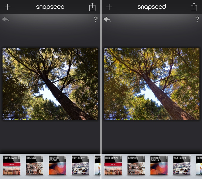 Snapseed Ios Updated With Hdr Scape Filter
