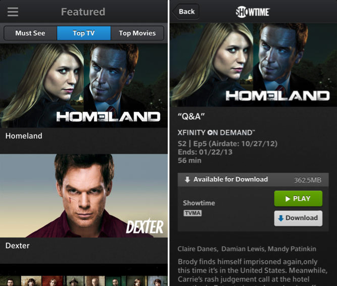 Comcast Launches Xfinity TV Go for iOS Devices with Live