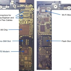 Iphone 4s Parts Diagram Clipsal Saturn Light Switch Wiring 5 Logic Board Schematic Get Free Image