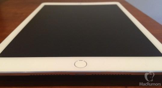 ipad air touch id mockup - iPad Air ainda mais fino