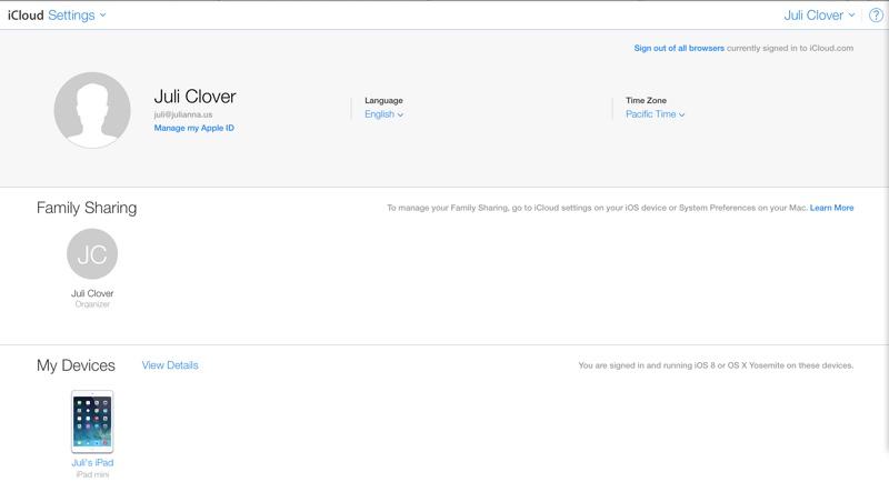 iCloud Beta Site Gains Apps for iCloud Drive, Settings