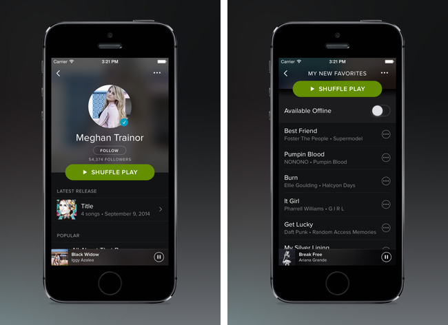 Spotify Adds CarPlay Support in Latest iOS Update - MacRumors
