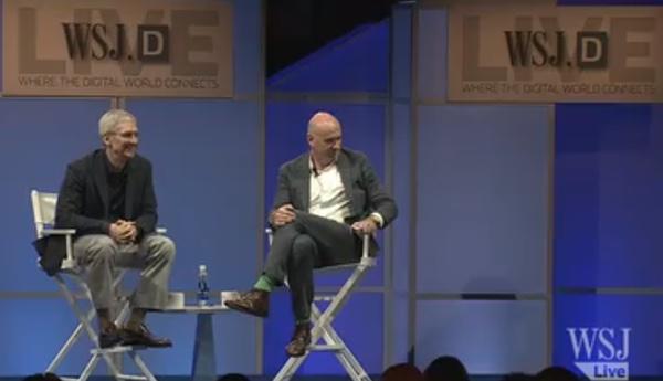 Il video completo delle poste di WSJ di Tim Cook che discute la paga di Apple, Apple guarda e più