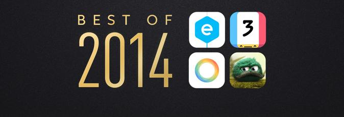 """Il meglio di Apple del deposito 2014 di iTunes: Onori superiori di App di vittoria di Pixelmator """"e"""""""" """"elevi"""