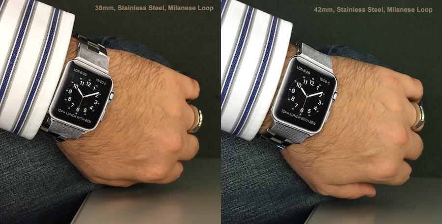 Apple Watch Size Comparison