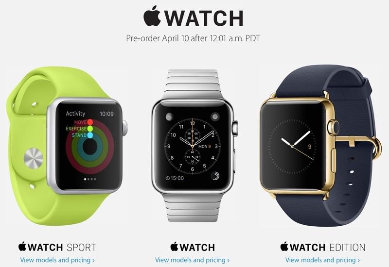 Apple Announces Watch Pre-orders Kick 12