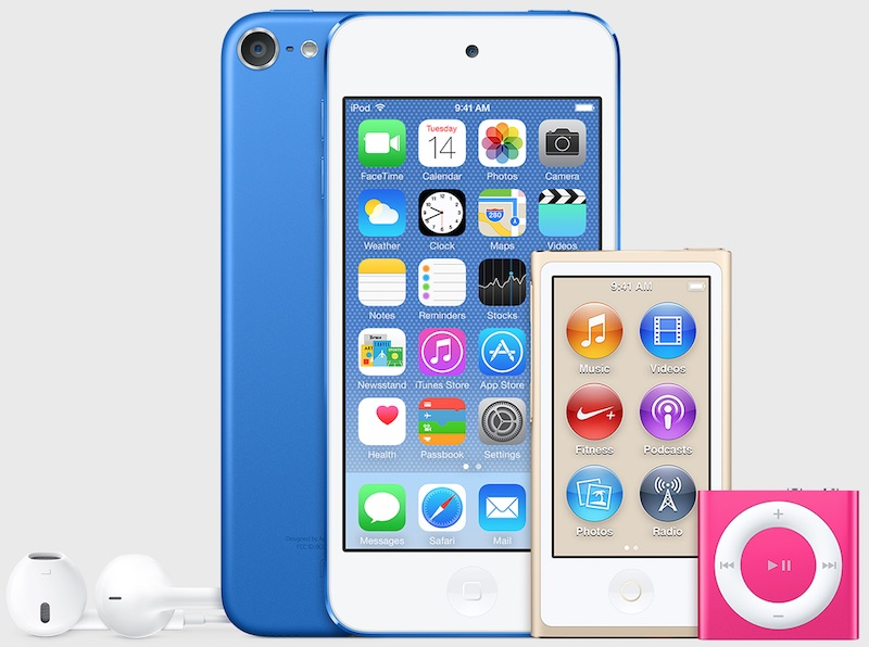 Ipods In Unreleased Colors Spotted Itunes 12.2 - Mac Rumors