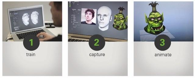 faceshift_train_capture_animate
