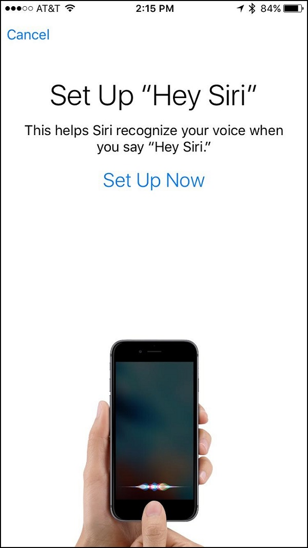 Apple' 'hey Siri' Feature In Ios 9 Individualized