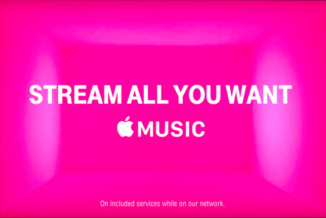 Apple Music on T-Mobile