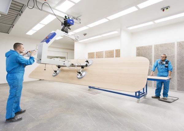 Apple Campus 2 Feature Custom Designed 18-foot Tables