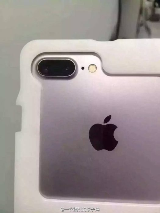 iphone 7 plus leak dual lens