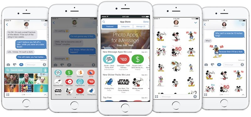 iOS 10 imessage apps