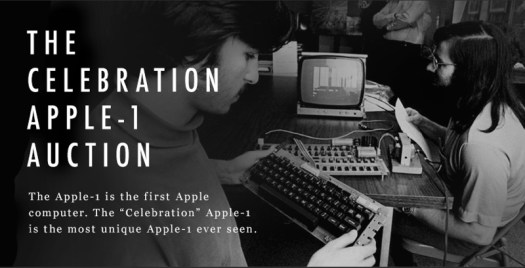 apple1celebrationauctioncharitybuzz