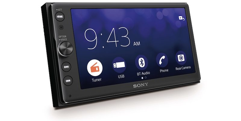 Sony Reveals Carplay-supported Audio System
