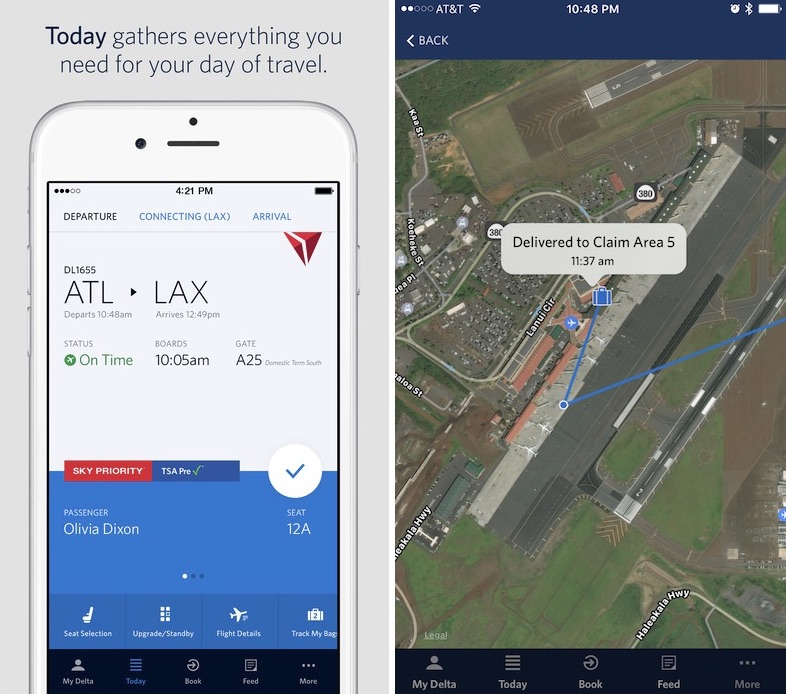 Fly Delta iOS App Update Lets Users Track Luggage Using