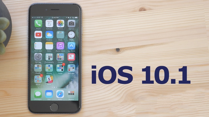 Apple Releases Ios 10 1 With New Portrait Mode For Iphone 7 Plus Updated