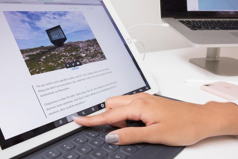 Touchbar on iPad