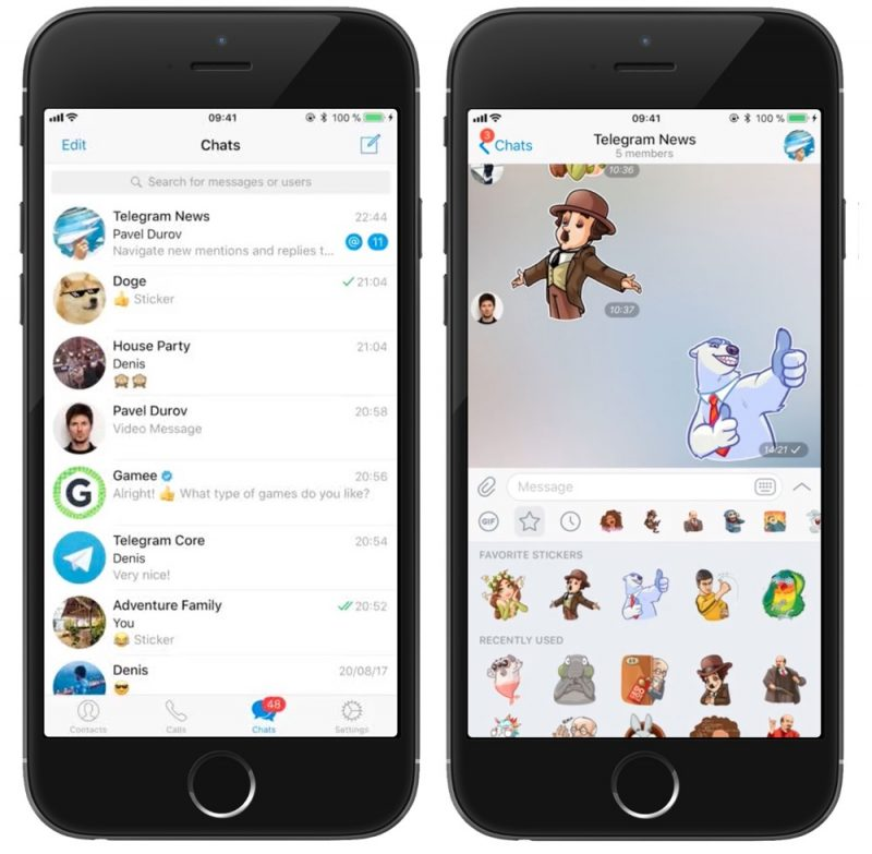 Telegram Chat App Gains Reply/Mention Alerts. Twitch Video Support. and More - MacRumors