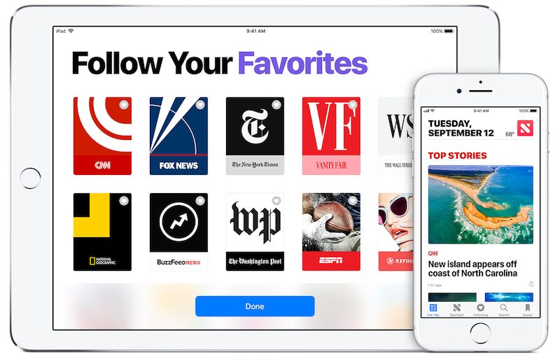 apple news drives significant