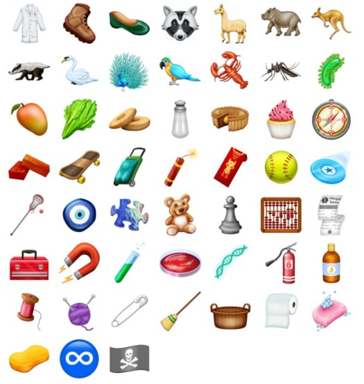 Here Are 150 New Emoji Coming To Iphones And Ipads Later This Year