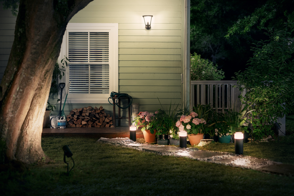 Philips hue philips noted that the outdoor products will be available in both the philips hue white and philips hue white and color ambiance ranges mozeypictures Gallery