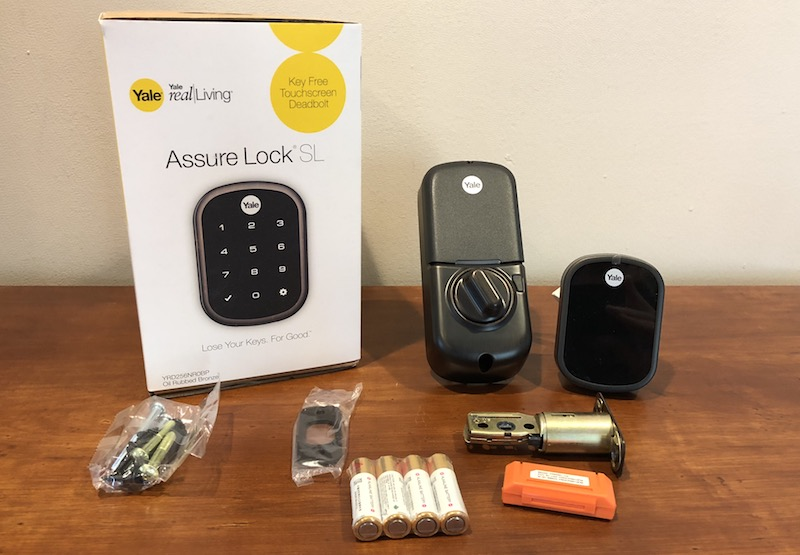 review yale s 220 assure lock sl is a sleek keyless homekit deadbolt [ 1600 x 1110 Pixel ]
