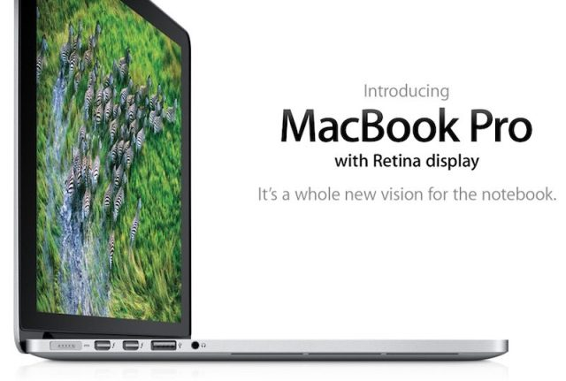 Apple's First MacBook Pro With Retina Display is Now
