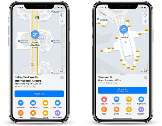 Apple Maps Now Features Indoor Maps of Boston Logan, DFW, and More ...