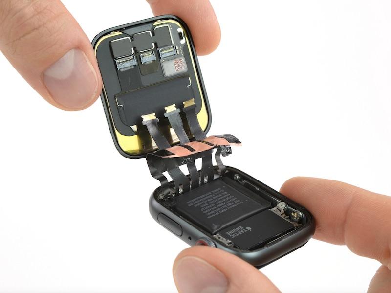 Ifixit Iphone Se Wallpaper Apple Watch Series 4 Teardown 20 Less Battery Capacity
