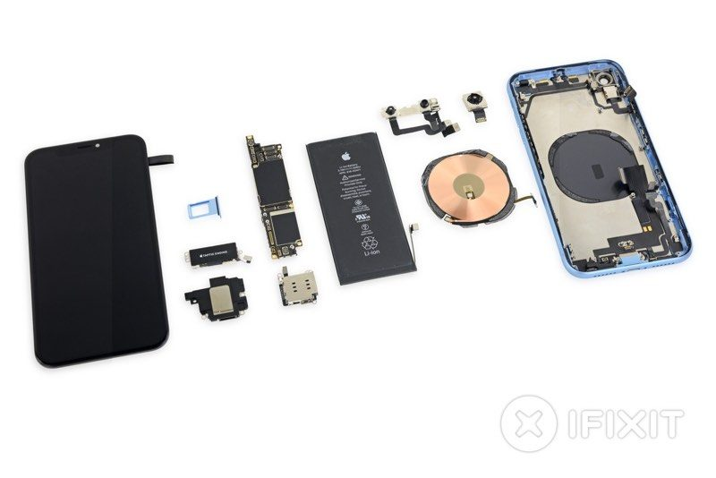 Ifix Iphone X Wallpaper Ifixit Gives Us A Peek Inside Iphone Xr With New Teardown
