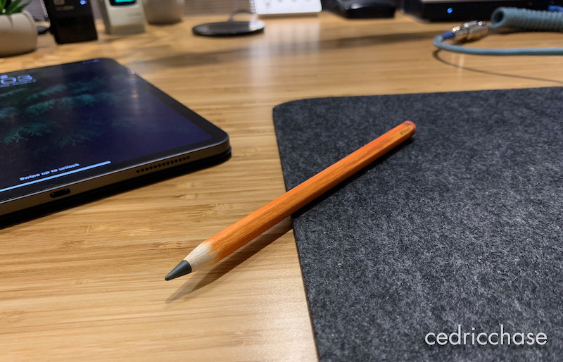 new apple pencil sandpapered