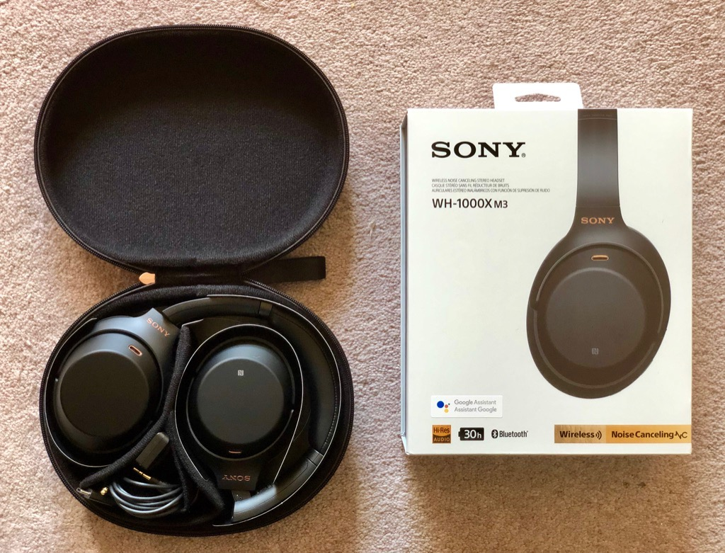medium resolution of review sony s wh 1000xm3 headphones are the best noise canceling cans you can get