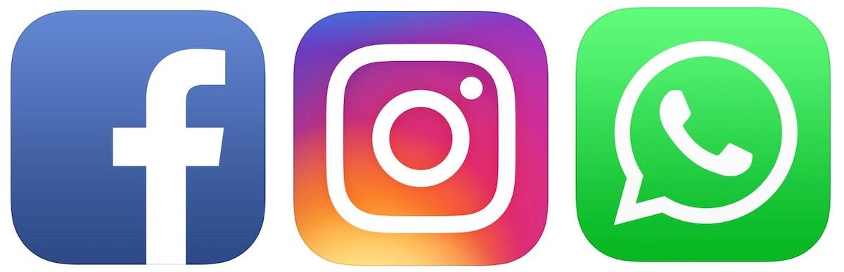 """Výsledok vyhľadávania obrázkov pre dopyt facebook instagram whatsapp"""""""