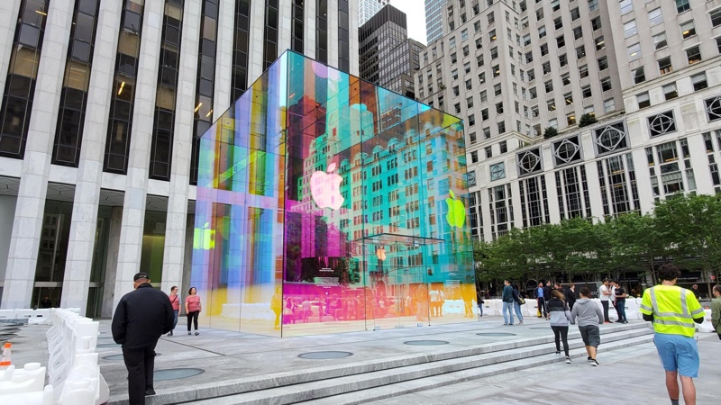 fifth avenue glass cube