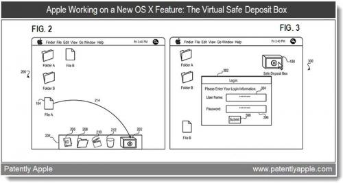 Apple 'Safe Deposit Box' Patent Revealed Ahead of Mac OS X