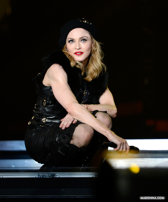 MDNA TOUR Opening Night - Photography by Kevin Mazur