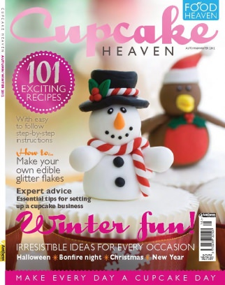 Food Heaven Magazine Cupcake Heaven AutumnWinter 2012