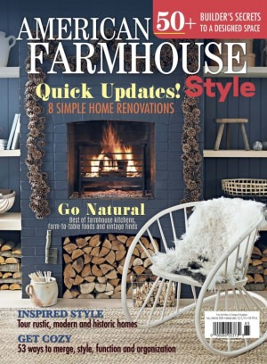 Cottages and Bungalows Magazine American Farmhouse Style FallWinter 2015 issue  Get your