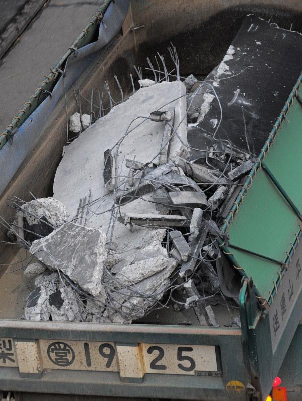 寫真特集:中央道・笹子トンネル崩落事故[寫真特集19/24]- 毎日新聞