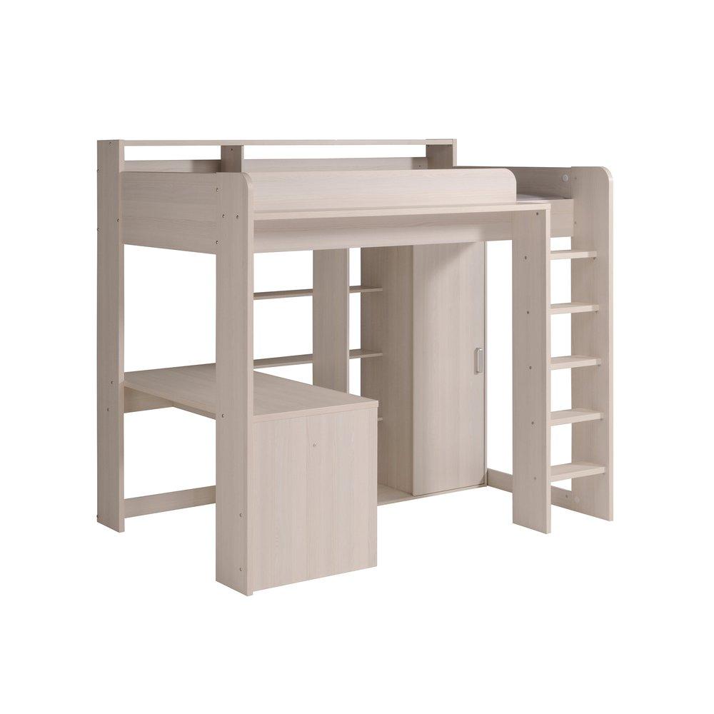 lit combine 90x200 cm avec bureau decor naturel helsinki