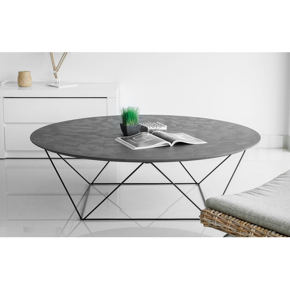 table basse effet beton cire epernay
