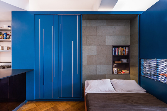 6 Spacious MicroApartments And Their Genius Storage Ideas