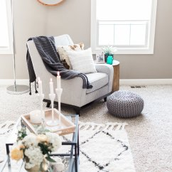 Decorating Ideas To Make A Small Living Room Look Bigger White Couches In 4 Easy Your Apartment An Idea Is Furnish It With Sleek