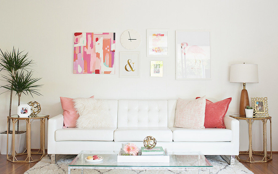 how to decorate a large living room with little furniture colors pictures 4 easy decorating ideas make your apartment look bigger that will tiny
